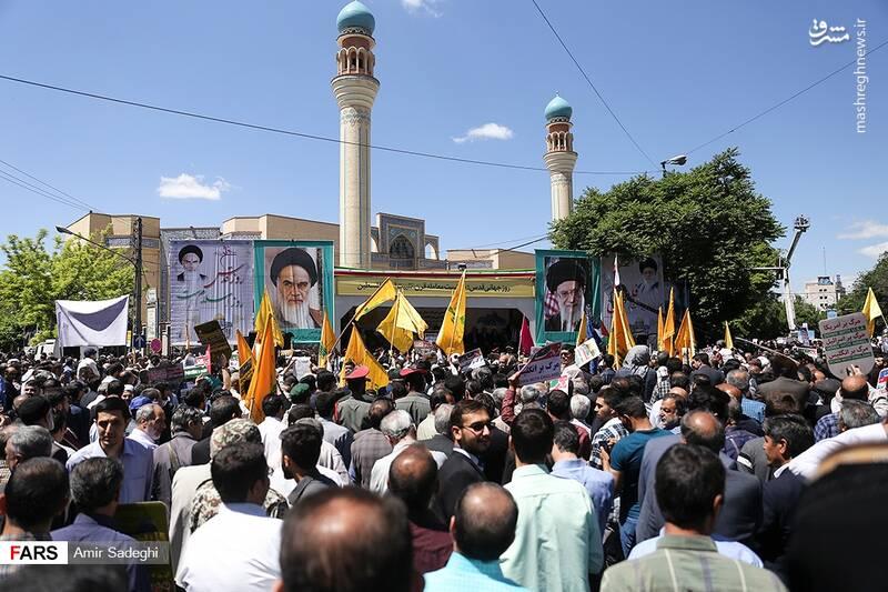 راهپیمایی روز قدس در تبریز
