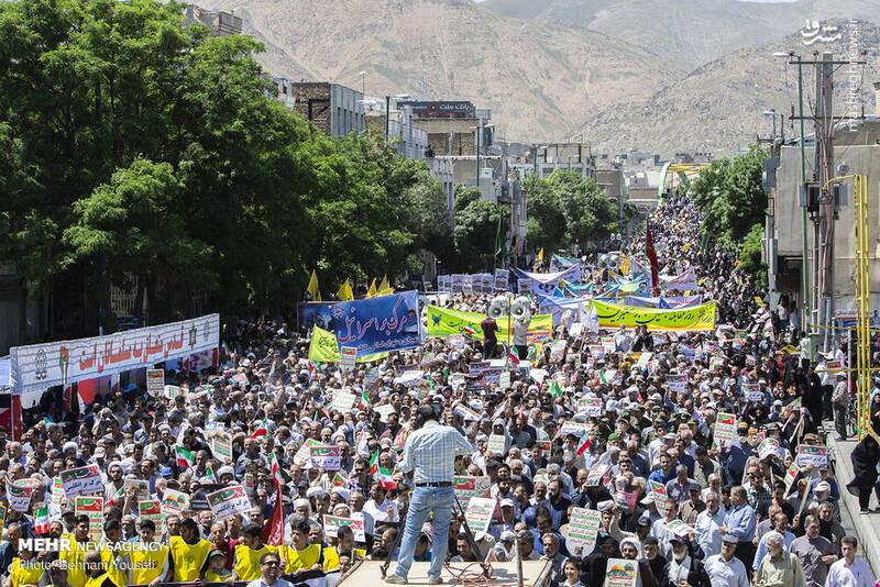 راهپیمایی روز قدس در اراک