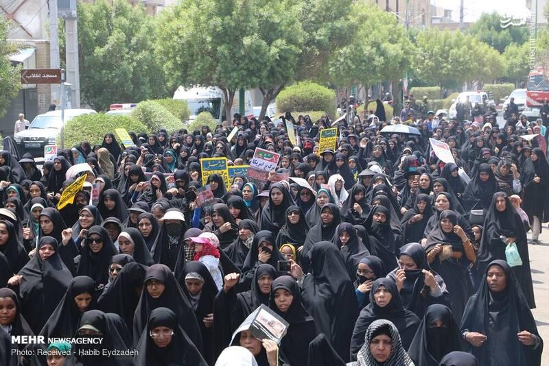 راهپیمایی روز قدس در میناب