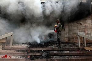 آتش زدن سفارت آمریکا در هندوراس