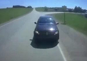 فیلم/ رانندهای که با تخلفی وحشتناک، مرگ خود را رقم زد