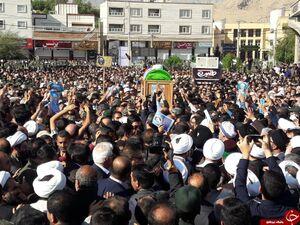 عکس/ مراسم تشییع امام جمعه شهید کازرون
