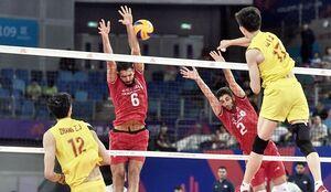 دومین پیروزی والیبال ایران/ دیوار چین فروریخت