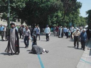 عکسی خاص از نماز جمعه روز قدس تهران