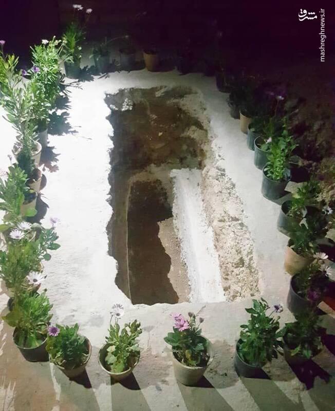 محل دفن امام جمعه شهید کازرون
