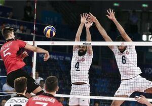 فیلم/ خلاصه دیدار والیبال ایران 3 - 0 آلمان