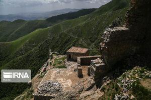 """عکس/ با """"قلعه بابک"""" آشنا شوید"""