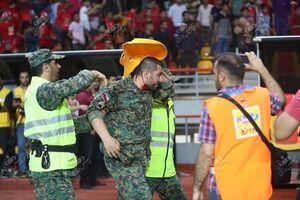 عکس/ فاجعه فینال جام حذفی خونین شد