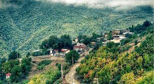 عکس/ نمایی زیبا از روستای پاقلعه