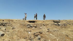 طوفان نیروهای ارتش سوریه در جنوب ادلب/ شهرک راهبردی « قصابیه» از اشغال عناصر تروریستی خارج شد + نقشه میدانی و عکس