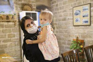 عکس/ کودکان سرطانی در جشنواره ساخت فانوس