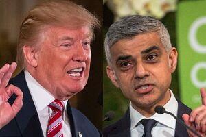 جنگ لفظی شهردار لندن با ترامپ