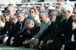 عکس/ سه فرمانده سپاه در نماز عید فطر