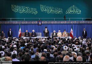 عکس/ دیدار مسئولان نظام و سفرای کشورهای اسلامی با رهبرانقلاب
