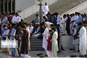 عکس/ اقامه نماز عید فطر در پاکستان