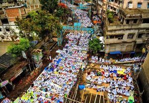 عکس/ اقامه نماز عید فطر در هند