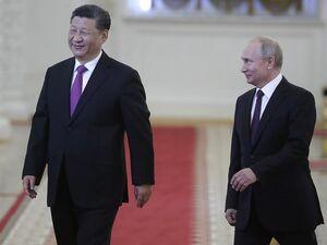 سفر رئیس جمهور چین به روسیه