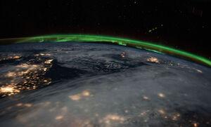 عکس/ تماشای زمین از فضا