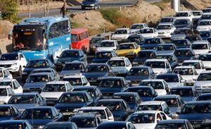 ترافیک سنگین در ورودیهای شرقی تهران