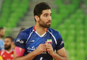 امتیازآورترین بازیکن ایران مقابل برزیل