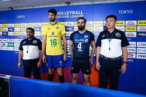 آمار دیدار تیم ملی والیبال ایران و برزیل +عکس