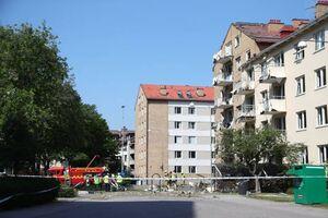 عکس/ انفجار  قدرتمند در سوئد