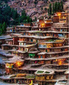 عکس/ روستایی شگفتانگیز در کوهرنگ