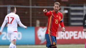رکورددار جدید تیم ملی اسپانیا