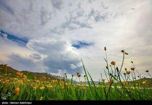 عکس/ دریاچهای دیدنی در اردبیل