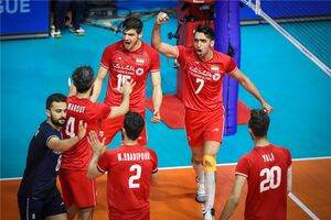 با شکست برزیل، ایران صدرنشین لیگ ملتهای والیبال باقی ماند