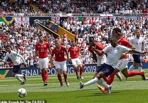 انگلیس با غلبه بر سوئیس مقام سوم را کسب کرد