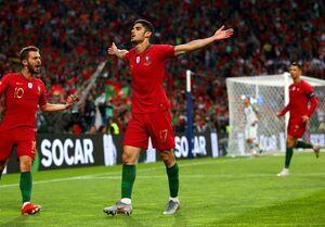 پرتغال با شکست هلند قهرمان لیگ ملتهای اروپا شد +فیلم