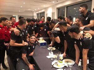 عکس/ جشن تولد کاپیتان تیم ملی در سئول