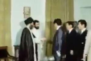 """فیلم/ دیدار""""آبه"""" با آیتالله خامنهای"""