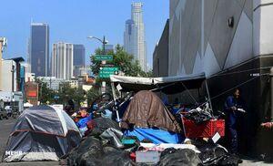 بی خانمان های آمریکا کجا زندگی میکنند +عکس