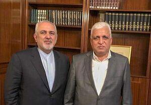 دیدار مشاور امنیت ملی عراق با ظریف در تهران