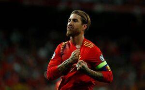 رکوردهای ادامهدار راموس در تیم ملی اسپانیا