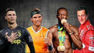 ابر قهرمانان دنیای ورزش +عکس