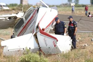 سقوط هواپیمای آموزشی در آنتالیا