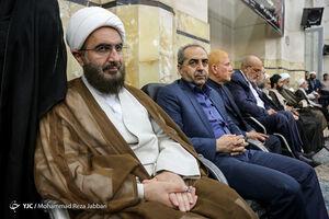عکس/ مراسم بزرگداشت امام جمعه فقید کازرون