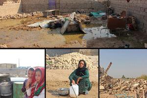 مصائب خوزستان پس از سیل
