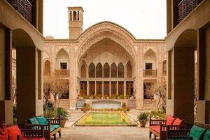 خانه تاریخی عامری ها در #کاشان، استان #اصفهان - کراپشده
