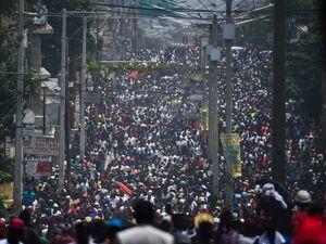تظاهرات ضددولتی گسترده مردم هائیتی
