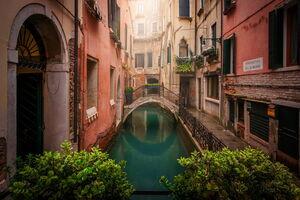 عکس/ شهری زیبا بر روی آب