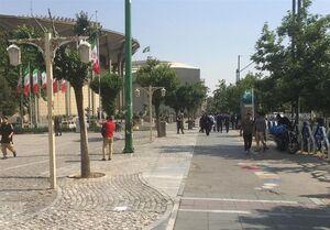 کوچ دستفروشان تئاتر شهر پس از شلیک