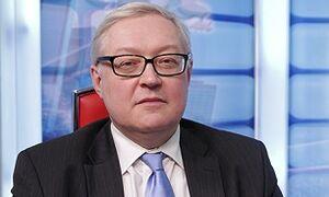 ریابکوف: اینستکس باید امکان فروش نفت ایران را فراهم کند