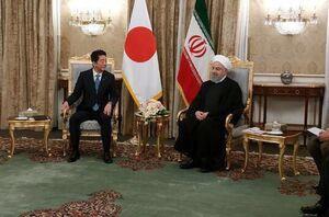 عکس/گفت و گوی روحانی و نخست وزیر ژاپن