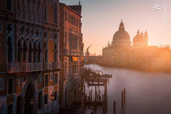 عکس/ شهری زیبا بر روی آب - 3