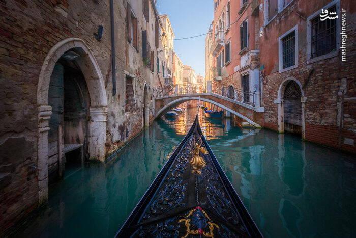 عکس/ شهری زیبا بر روی آب - 0