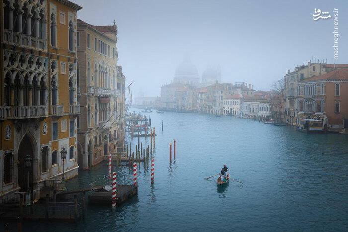 عکس/ شهری زیبا بر روی آب - 4